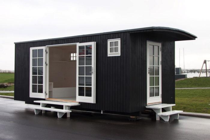 """den2radio // AT BO: """"Tiny Houses – mobil, minimalistisk og midlertidig"""